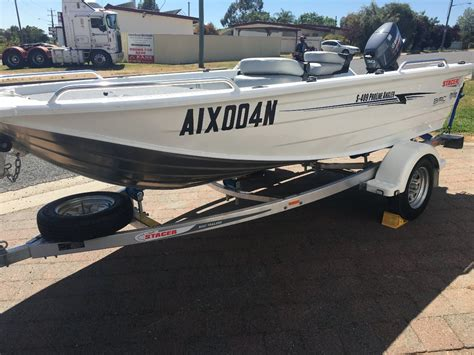 new aluminium boats for sale nsw new stacer 409s proline angler trailer boats boats