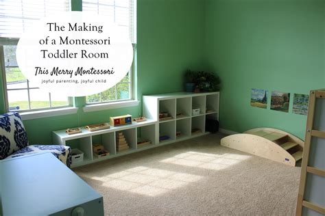 montessori toddler bedroom the making of a montessori toddler room this merry montessori