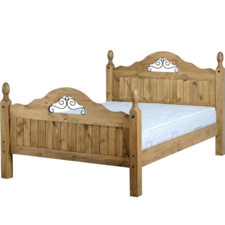 Scroll Bed Frame Original Corona Pine Scroll Bed Frame Furniture123