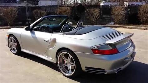 Porsche 996 For Sale by 2004 Porsche 996 Turbo Cabriolet For Sale 564rwhp
