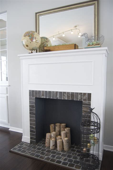 how to build a faux fireplace matsutake