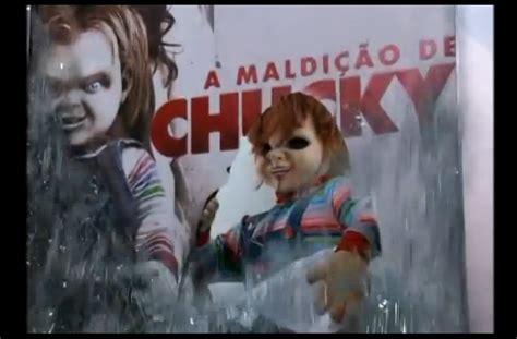 chucky film d horreur effroyable l affiche publicitaire du film d horreur
