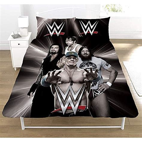 wwe kids bedroom wwe superstars single and double duvet cover sets kids