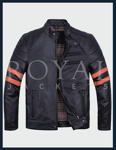 cool biker jackets cool black leather jacket for men