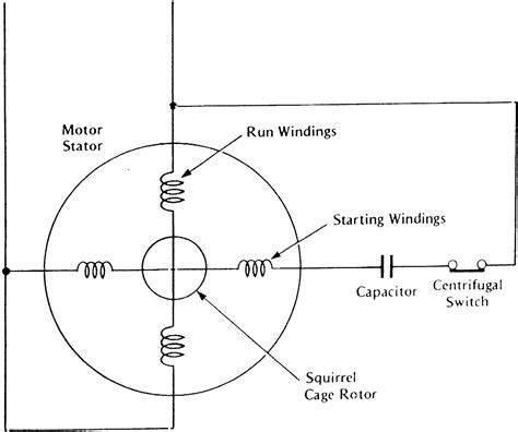 capacitor start induction run motor operation applications of capacitor start single phase induction motor verstecken