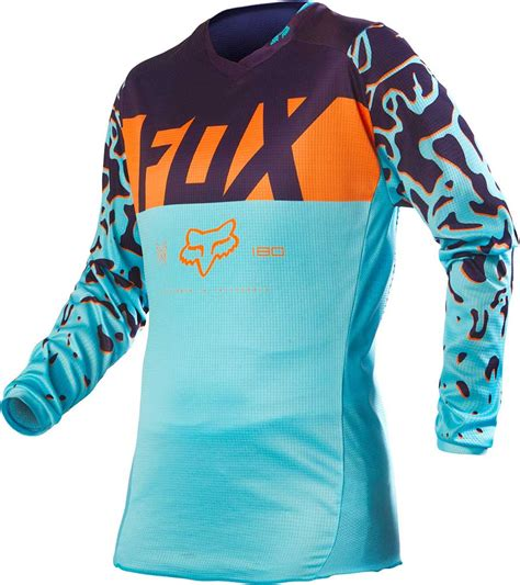 fox motocross jerseys 2016 fox racing 180 womens jersey motocross dirtbike mx