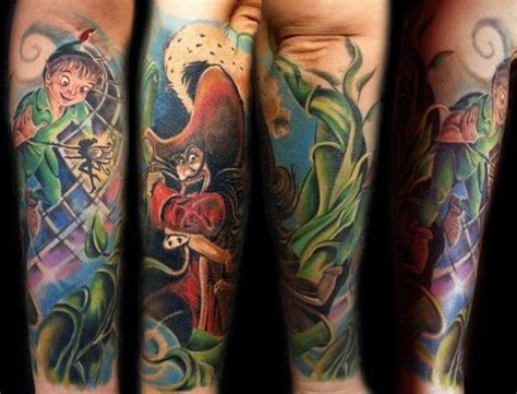 disney tattoo sleeve disney