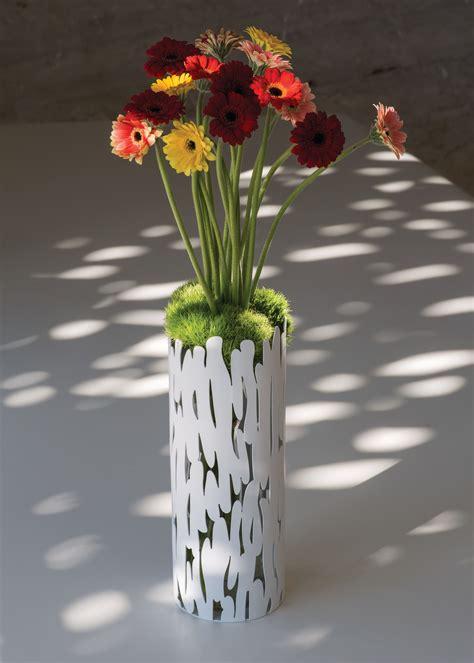 alessi vase vase barkvase acier alessi made in design