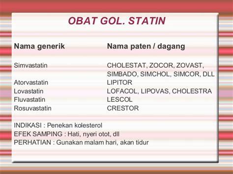 Obat Simvastatin Generik penyakit jantung koroner