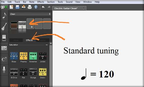 tutorial guitar pro 6 guitar pro 6 tutorial how to add distortion