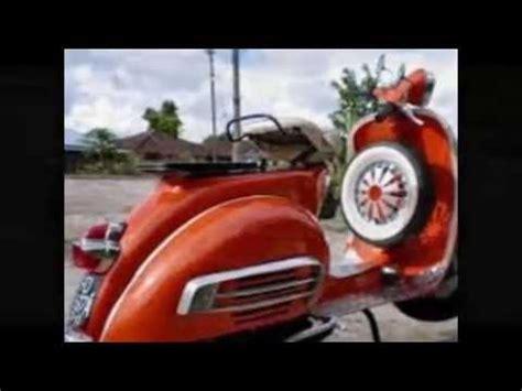 modifikasi vespa px klasik modifikasi motor vespa px modif motor classic