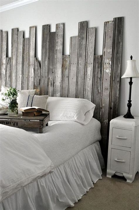 reclaimed wood headboard diy reclaimed wooden headboard
