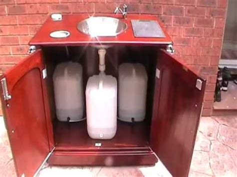 Camper Kitchen Faucet Best Camping Ideas Homemade Portable Sink Youtube