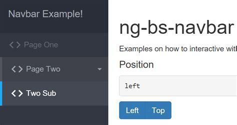 bootstrap layout angular ultimate bootstrap navbar with angularjs angular script