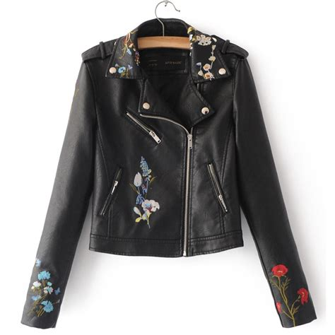 cool motorcycle jackets 2017 new womens leather jackets lady bomber motorcycle
