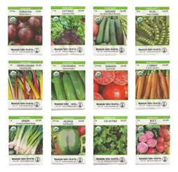 seeds for vegetable garden top 5 best organic seeds for vegetable gardens heavy