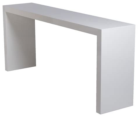 white lacquered console console tables