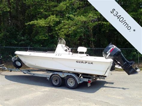 used sea fox boats for sale in sc 2006 used sea fox 225 bay fisher center console fishing