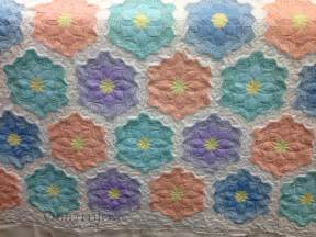 grandmother s flower garden quilt makeover