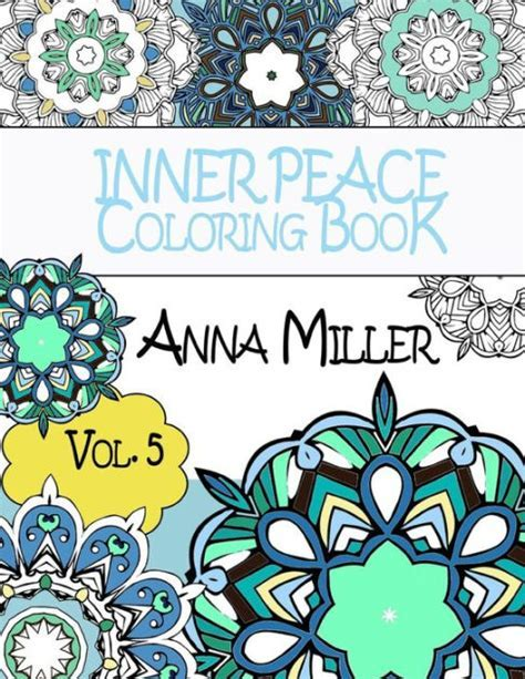 Inner Peace Coloring Book Anti Stress And Art Therapy