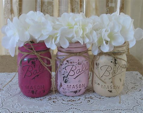 jar baby shower rustic baby chic