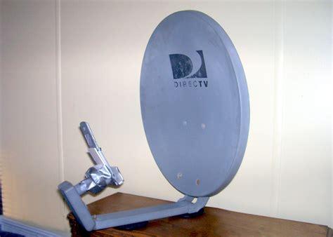repurposed satellite dish antenna captures wi fi  cell phone signals strength satellite