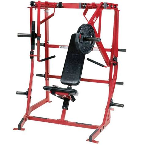 hammer strenght bench press hammer strength plate loaded iso lateral decline press