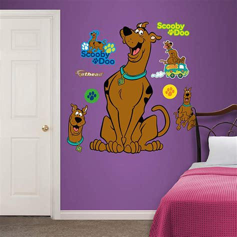 scooby doo wall mural scooby doo wall decal shop fathead 174 for scooby doo decor