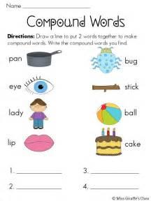 compound words worksheets fbopen