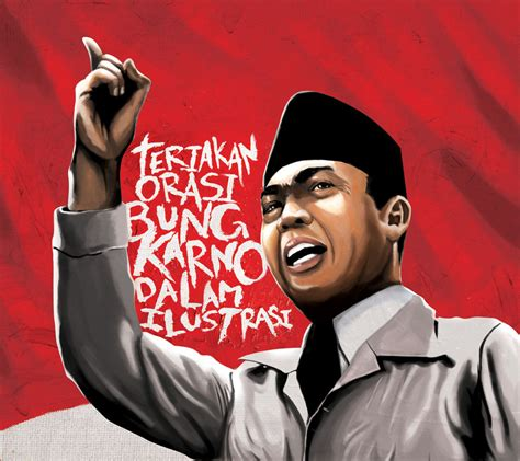 brief biography of soekarno teriakan orasi bung karno by sukiafat on deviantart