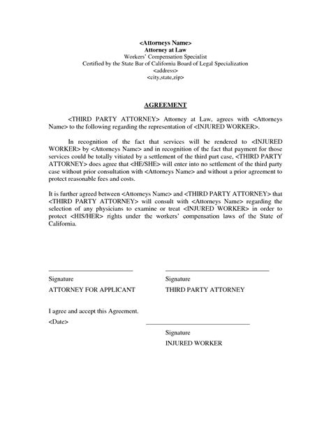 Letter Of Settlement Agreement Sle Debt Settlement Agreement Letter Free Printable Documents