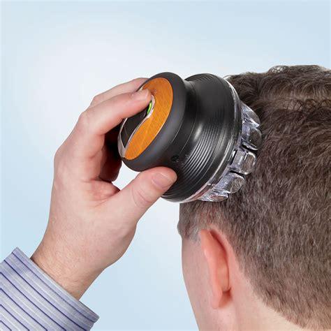 New Self Haircut Tools For Men   the barber eliminator hammacher schlemmer
