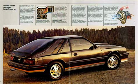 how to fix cars 1984 mercury capri user handbook directory index mercury 1984 mercury 1984 mercury capri brochure