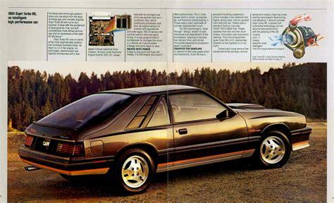 how things work cars 1984 mercury capri auto manual directory index mercury 1984 mercury 1984 mercury capri brochure