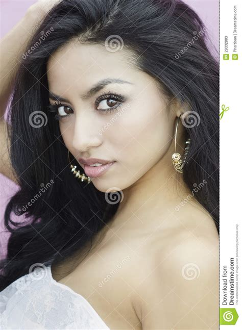 young exotic beauties beautiful exotic young woman stock image image of closeup exposed 29332883