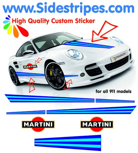 Porsche 911 Martini Aufkleber by Rally Car Models Racing Models Upcomingcarshq