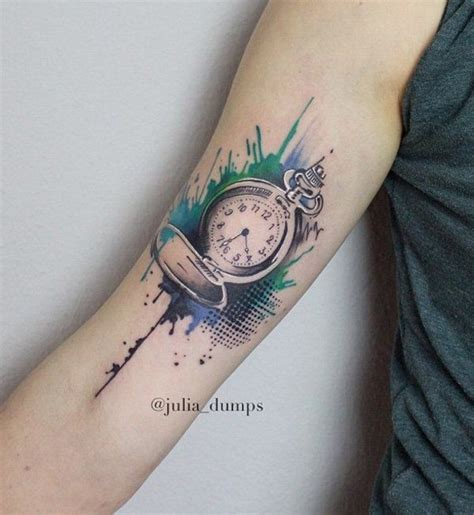 watercolor tattoo watch 35 best in images on