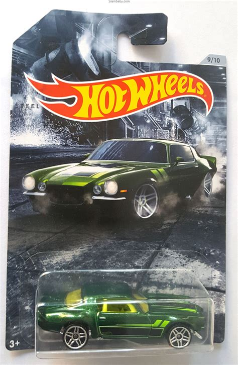 hot wheels  american steel muscle  camaro