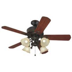 Harbor Ceiling Fans Installation Shop Harbor Edenton 52 In Aged Bronze Downrod Or