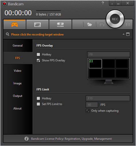 bandicam full version terbaru bandicam recording fps