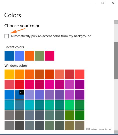 Choose Your Shade And Win by How To Choose A Custom Accent Color Using Settings App On
