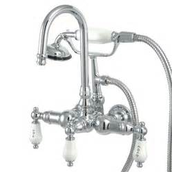 wall mount tub faucet with diverter wall mount clawfoot tub faucet with diverter valve