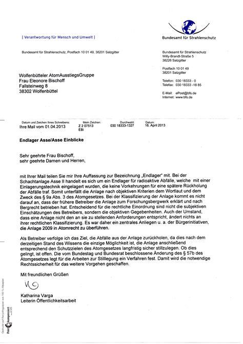 Stellungnahme Schreiben Muster Pdf stellungnahme der waag zur anh 246 rung zur asse im umweltausschuss des deutschen bundestages