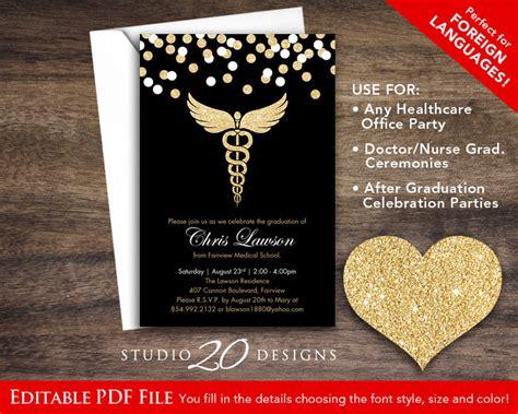 instant download black gold glitter nursing graduation