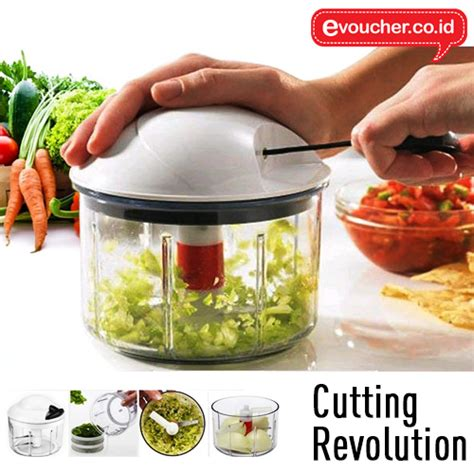 Blender Buah Dan Daging jual cutting revolution blender potong sayur dan daging tokolestari net