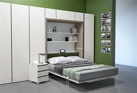 armadio con letto matrimoniale incorporato ima murphy bed table combo clever it