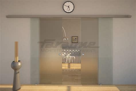 porta scorrevole design velo la porta scorrevole tuttovetro dal design minimale