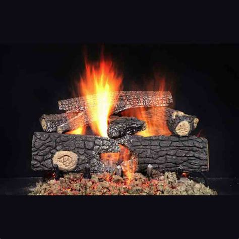 Fireplace Refractory Cement by Majestic 24 Quot Fireside Realwood Refractory Cement Log Set