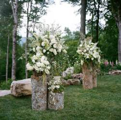 backyard rustic wedding best 25 outdoor wedding altars ideas on