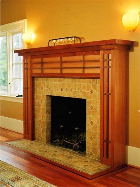 Craftsman Fireplace Mantel Ideas   HomesFeed